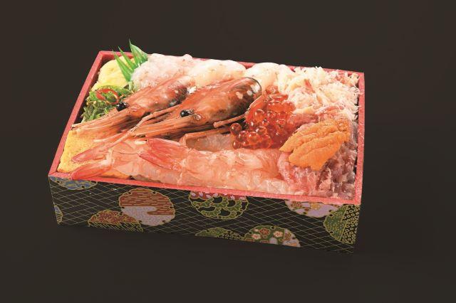 海老トロえび食べ比べ弁当