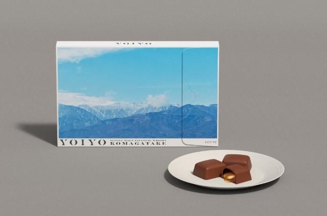 LOTTE新ブランド「YOIYO<KOMAGATAKE>」チョコレートとパッケージ(写真:YOIYO<KOMAGATAKE>「YOIYO」HPより)