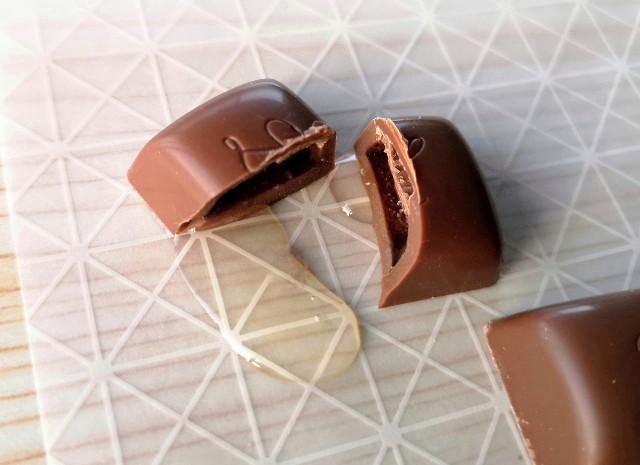 LOTTE新ブランド「YOIYO<KOMAGATAKE>」チョコレート(中身)