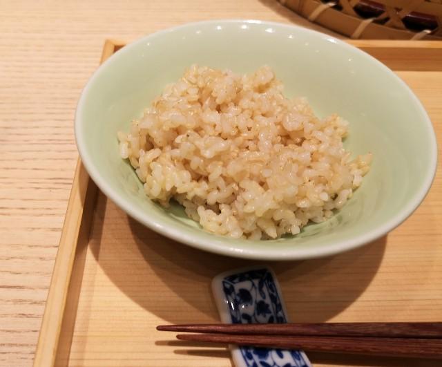 大阪・難波「象印食堂」玄米