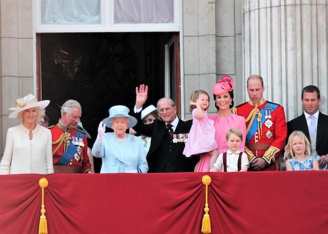 英王室ファミリー