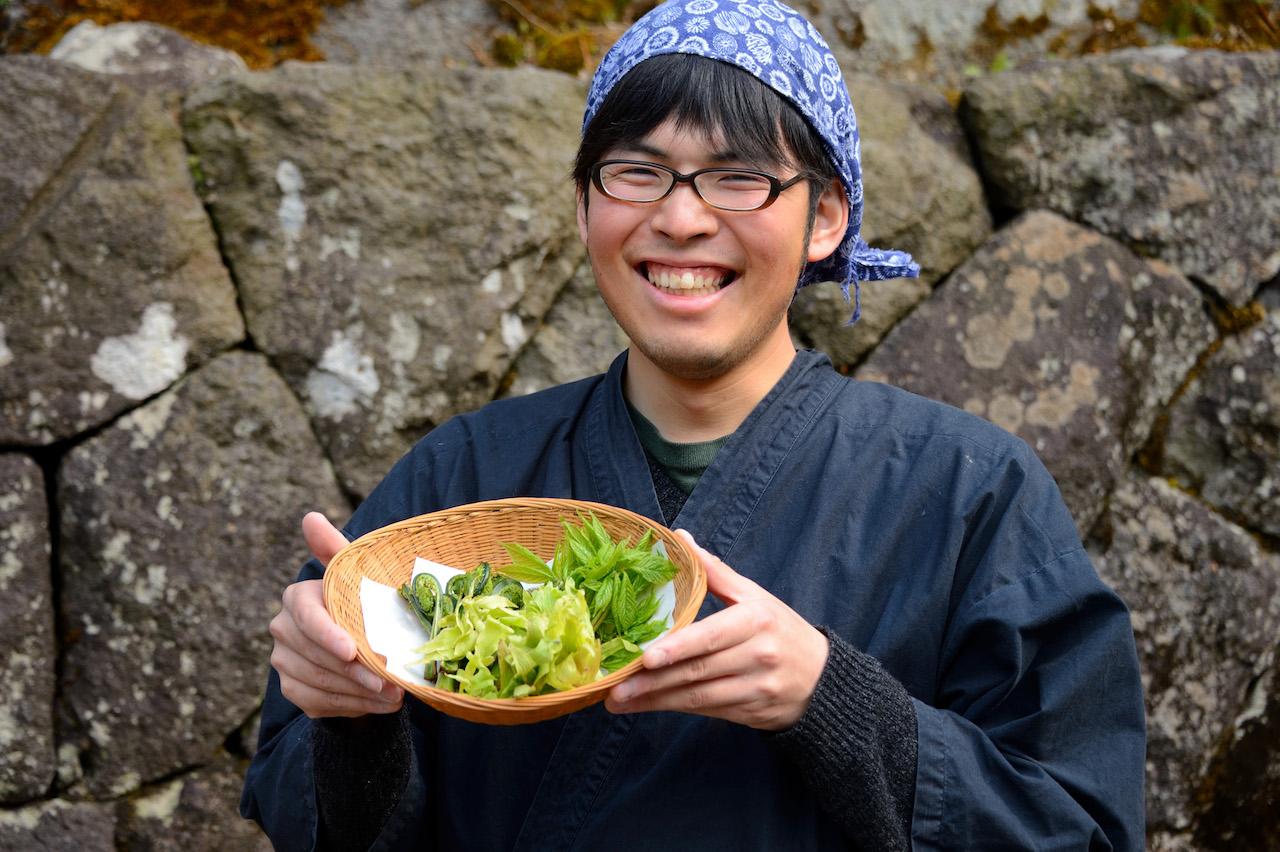 滑川温泉福島屋 新鮮な山菜