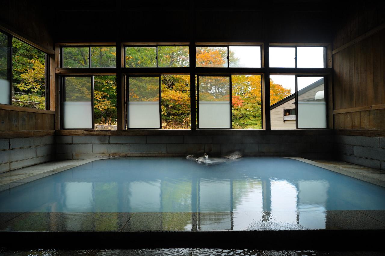 滑川温泉福島屋 混浴内風呂