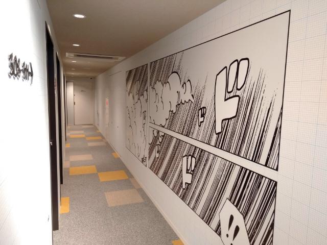 ラ・ジェント・ホテル新宿歌舞伎町廊下