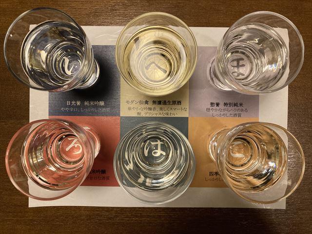界 日光 栃木の地酒 ペアリングセット