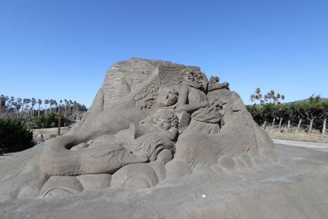 千葉県館山ファミリーパーク砂の彫刻 庭園美術館