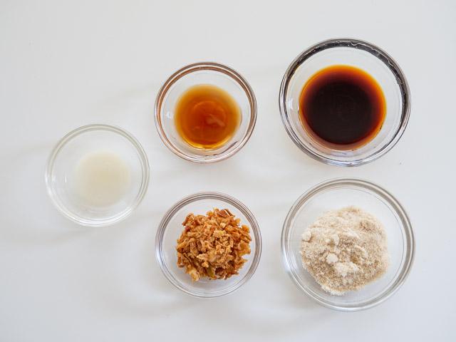 醤油ベースのソース