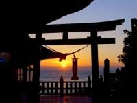 鵜戸神宮夕景