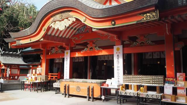 青島神社拝殿