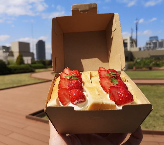 東京・恵比寿スチーム⽣⾷パン専⾨店「STEAM BREAD EBISU(スチームブレッド エビス)」あふれでるクリームの#フルーツスチパンサンド