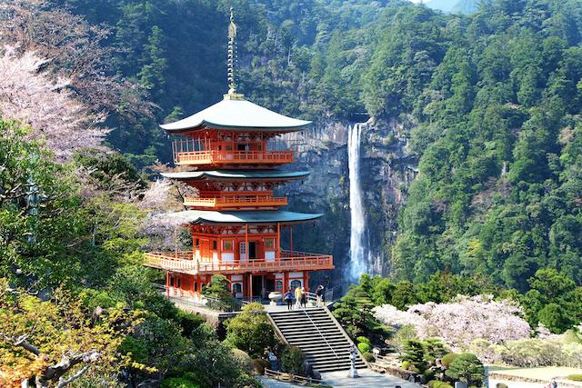 和歌山県東牟婁郡那智勝浦町那智の滝