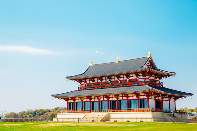 奈良県奈良市平城宮跡