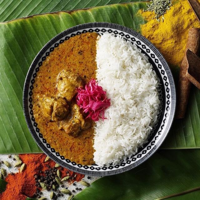 南インド風バターチキンカレー