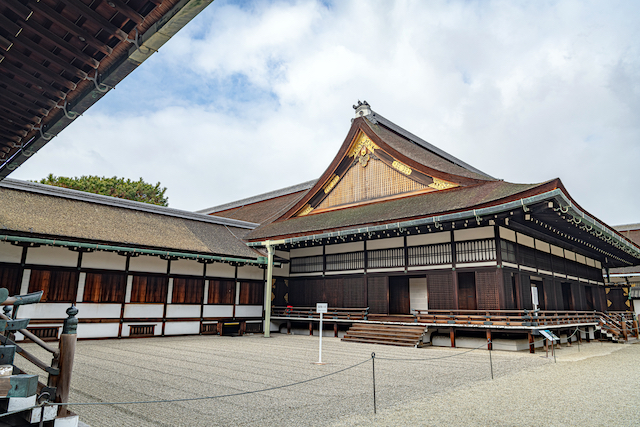 京都御所鞠場
