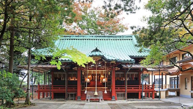 赤坂氷川神社 本殿