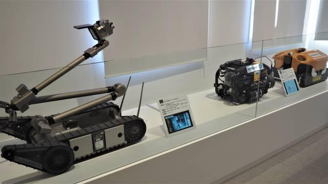 燃料デブリを取り出すロボット