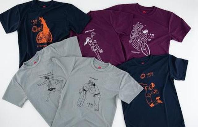 スポーツ競技6種Tシャツ