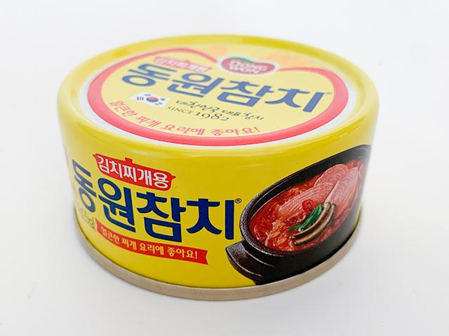 キムチチゲ用の辛いツナ缶