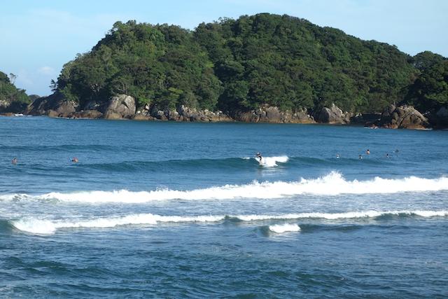 高知県東洋町生見海岸