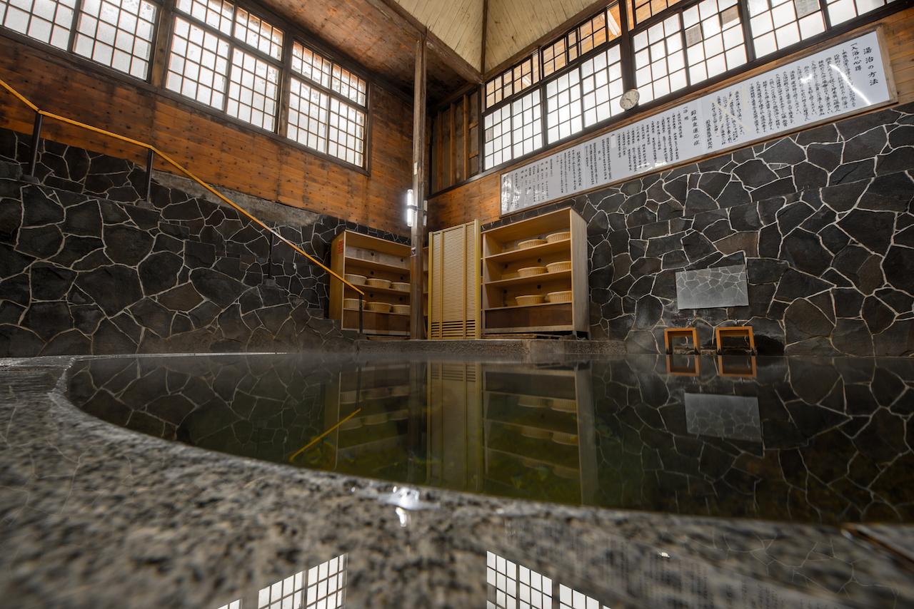 鉛温泉・藤三旅館 白猿の湯2