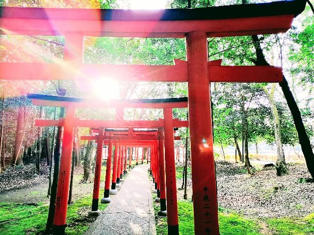 奈良県「橿原神宮」内「長山稲荷社」