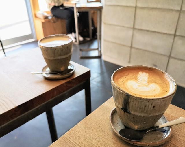 奈良県「ANY B&B + COFFEE」チャイラテとカフェラテ