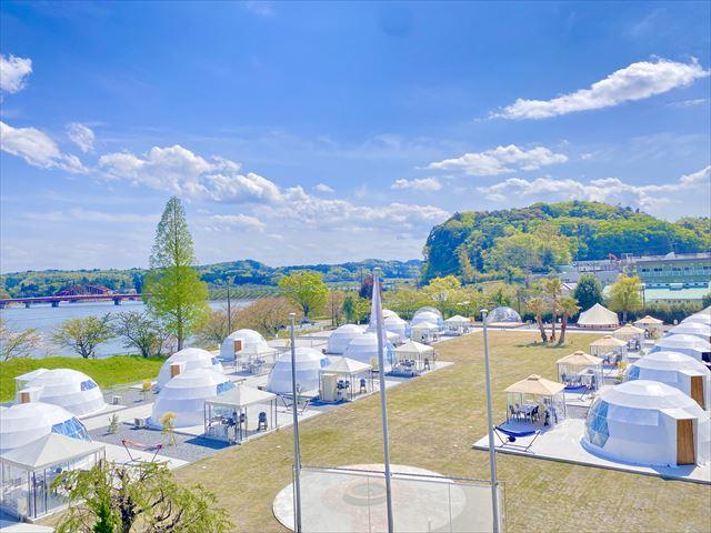 小学校の廃校をリノベーション!千葉県に「高滝湖グランピングリゾート」オープン!