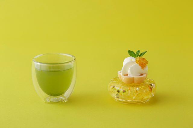 煎茶と柚子