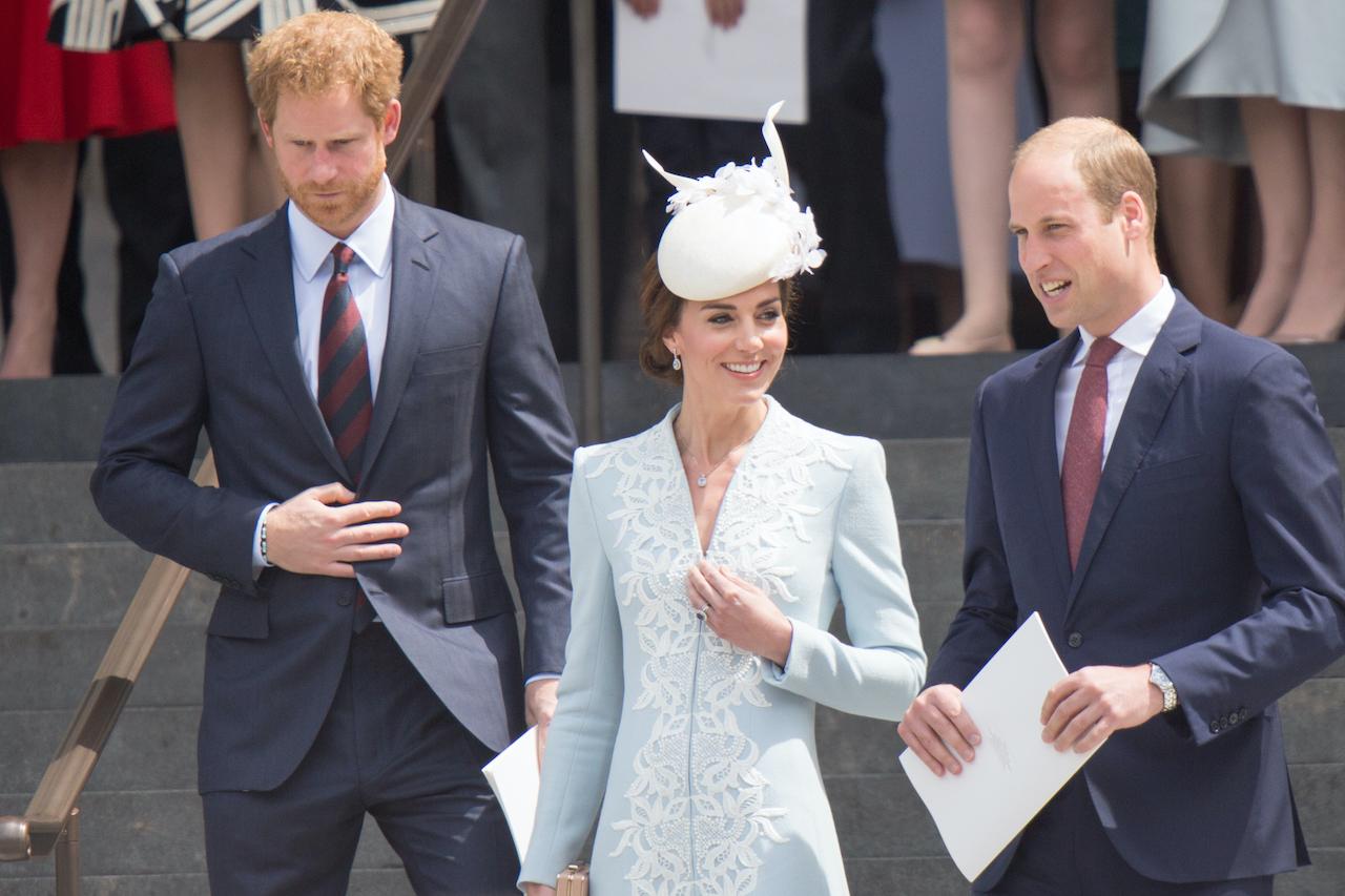 ヘンリー王子、キャサリン妃、ウィリアム王子