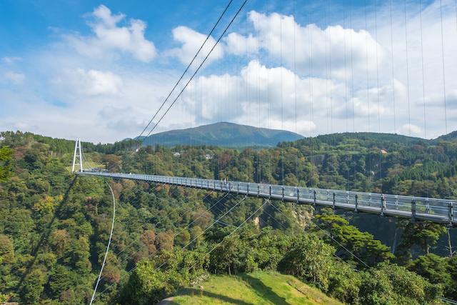 大分県玖珠郡九重町夢大吊橋