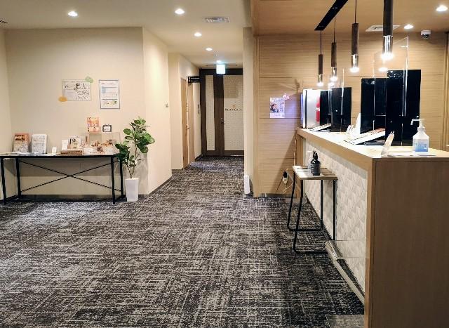 愛知県・名古屋市「アットインホテル名古屋駅」フロント