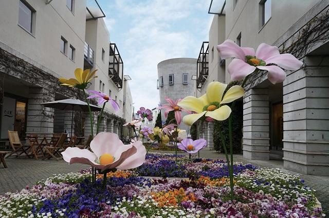 回廊の花咲くリゾナーレ 2021