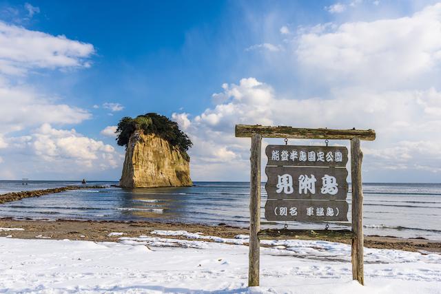 石川県珠洲市見附島