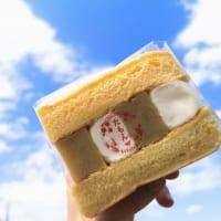 石川県・パンケーキカフェ「Cafe たもん」パンケーキサンド(五郎島金時2)