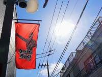 東京都・祖師ヶ谷大蔵「ウルトラマン商店街」旗