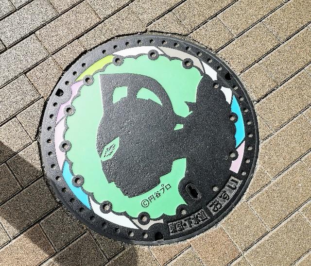 東京都・祖師ヶ谷大蔵「ウルトラマン商店街」ウルトラマンシリーズマンホール