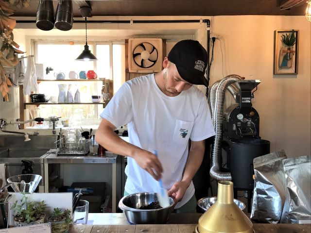 Sakurai Coffee 店主