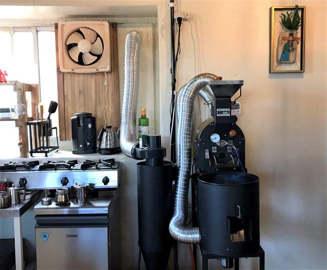 Sakurai Coffee 焙煎機
