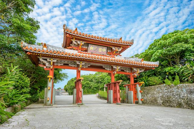 沖縄県首里城守礼門