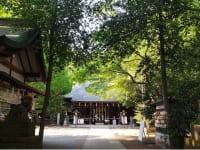 小平神明宮 社殿遠景