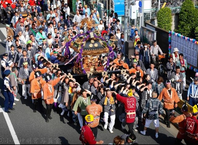 八雲祭の様子