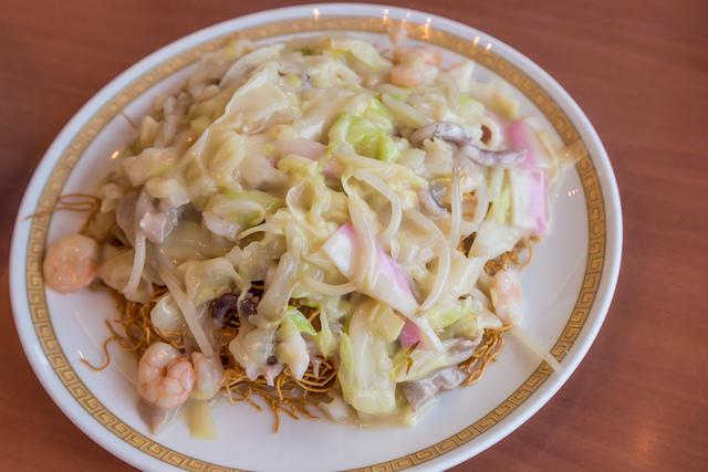 四海樓皿うどん太麺