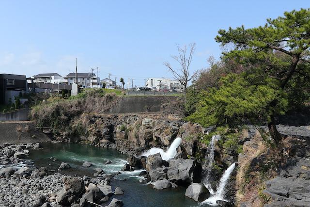 静岡県長泉町鮎壺の滝