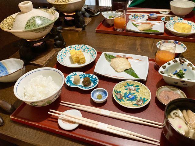 界 加賀 朝食