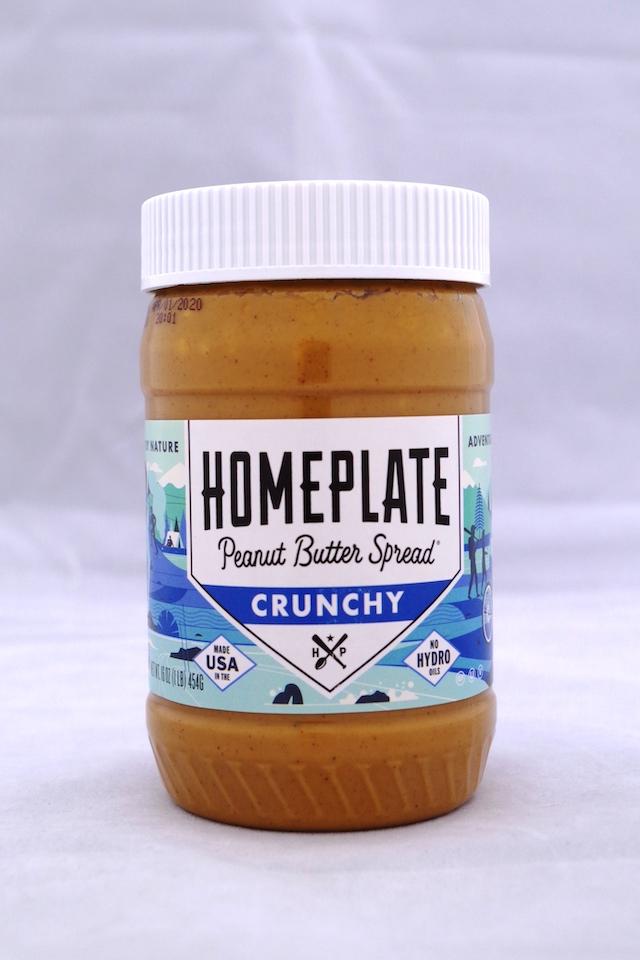 ホームプレート ピーナッツバタークランチー(粒入り)