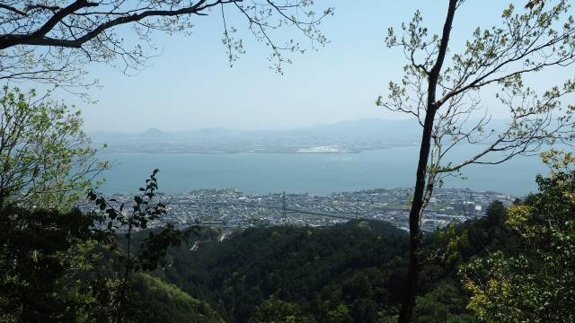 琵琶湖遠望