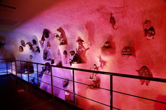 水木しげる記念館 妖怪洞窟