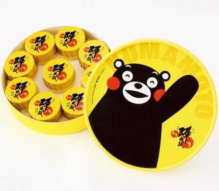 〈お菓子の香梅〉ハッピー陣太鼓くまモン