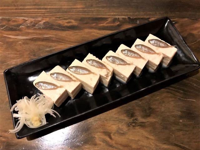 すくらがす豆腐