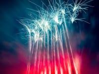 山梨県笛吹市石和温泉の花火